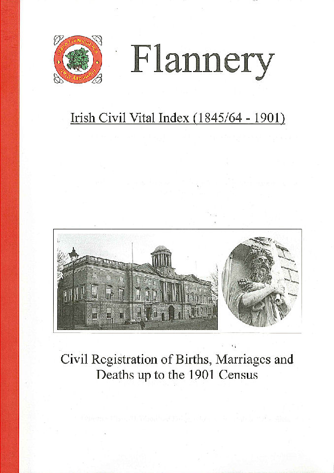 Flannery: Irish Civil Vital Index (1845/64-1901)